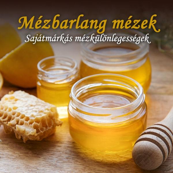 Mézbarlang mézek