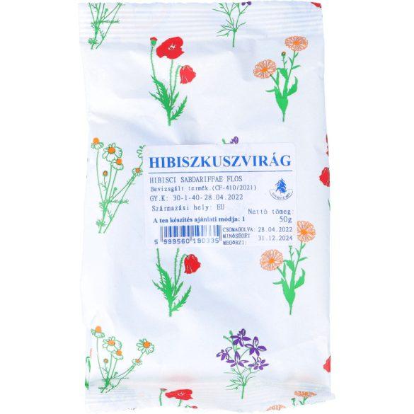 Hibiszkuszvirág tea 50g (Gyógyfű)