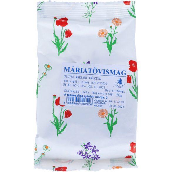 Máriatövismag tea 50g (Gyógyfű)