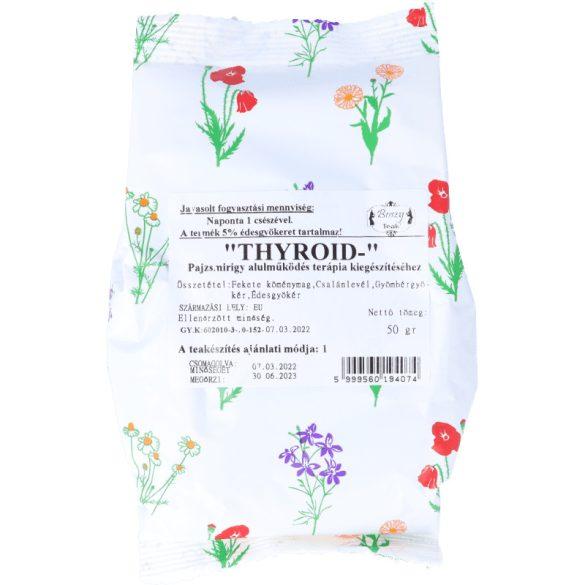 Thyroid- pajzsmirigy alulműködésre tea 50g (Gyógyfű)