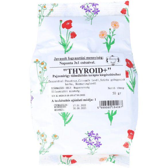 Thyroid+ pajzsmirigy túlműködésre tea 50g (Gyógyfű)