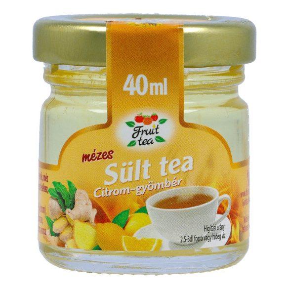 Citromos-gyömbéres sült tea mézzel 40ml
