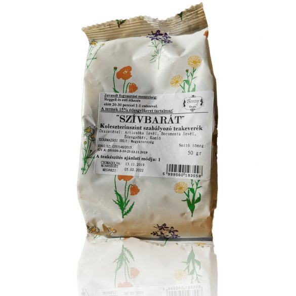 Szívbarát tea 50g (Gyógyfű)