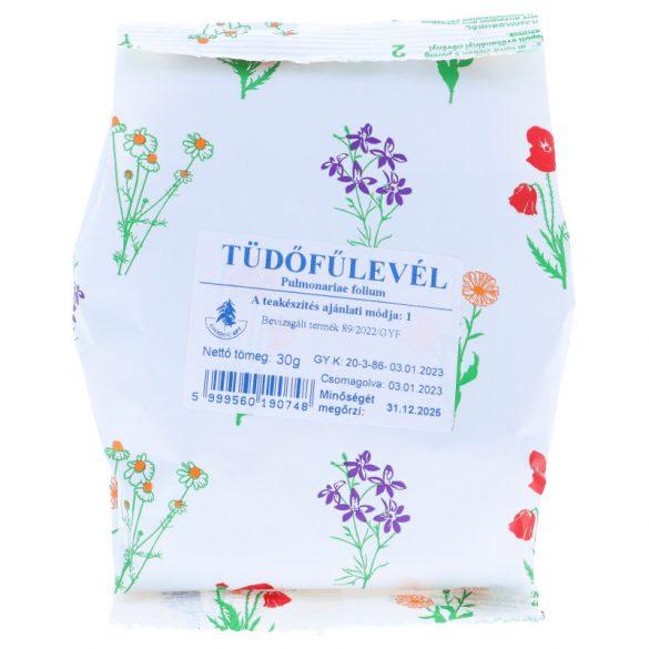 Tüdőfűlevél tea 30g (Gyógyfű)