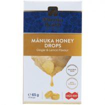 Manuka cukorka 400+ manukával, gyömbéres citromos 65g (Manuka Health's)