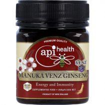 Manuka VENZ méhméreggel és Ginzenggel, 250g (Apihealth)