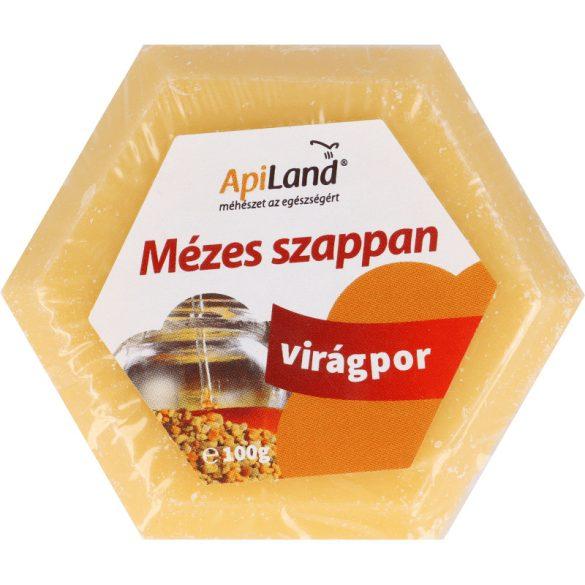 Mézes és virágporos szappan 100 g (Apiland)