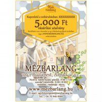 Mézbarlang vásárlási utalvány, 5.000 Ft-os, digitális