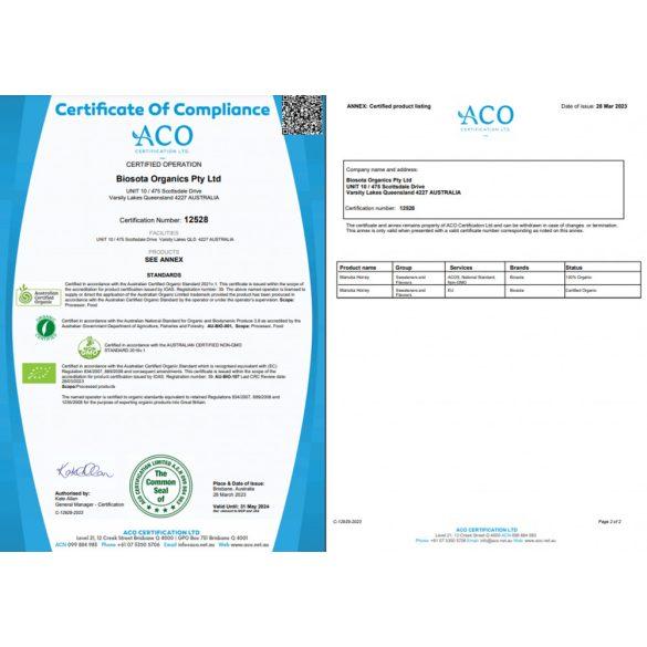 Manukaméz MGO 1717+ 500g (Biosota)