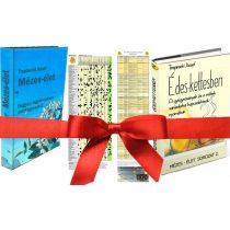 Trepinszki József: Mézes-Élet, Édes-Kettesben könyvek + táblázatok