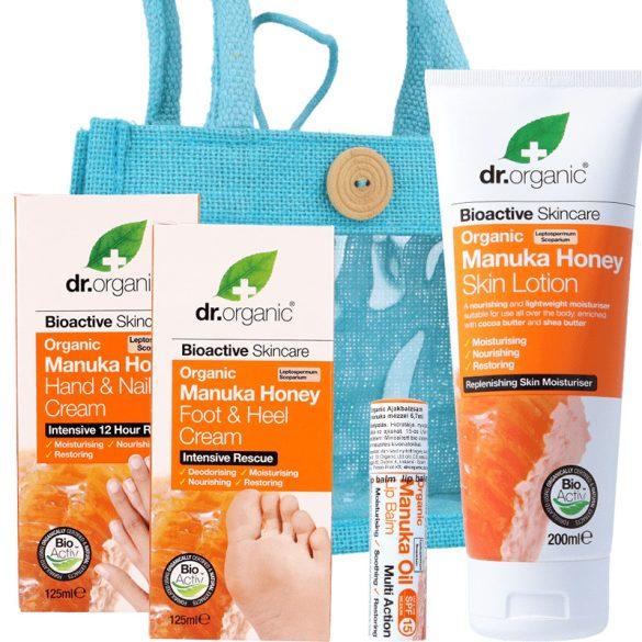TÖKÉLETES BŐRÉRT - Szépség csomag (Dr.Organic MANUKA termékekkel)