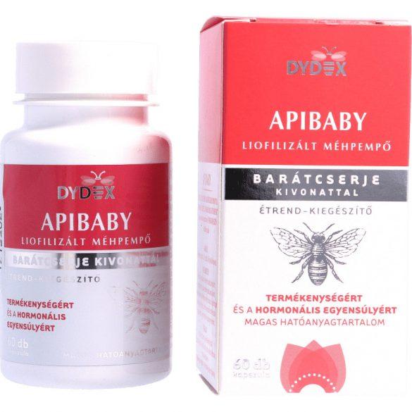 ApiBaby méhpempő kapszula barátcserje kivonattal, 60db (Dydex)