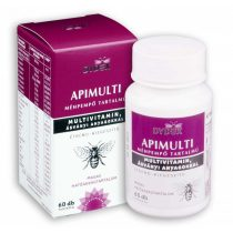 ApiMulti méhpempő tartalmú multivitamin kapszula, 60db (Dydex)