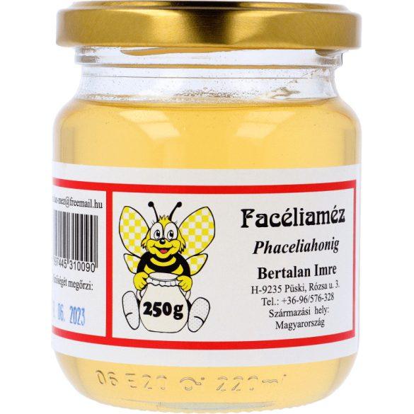 Facélia (Mézontófű) méz 250g (Bertalan)