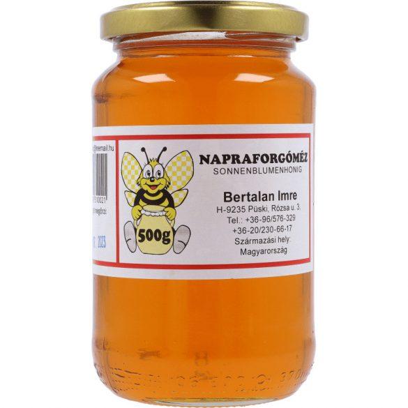 Napraforgó méz 500g (Bertalan)