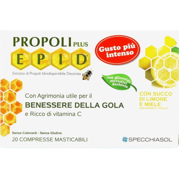 Propoliszos szopogatós tabletta, mézes-citromos, 20db