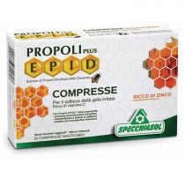 Propoliszos szopogatós tabletta, narancsos, 20db