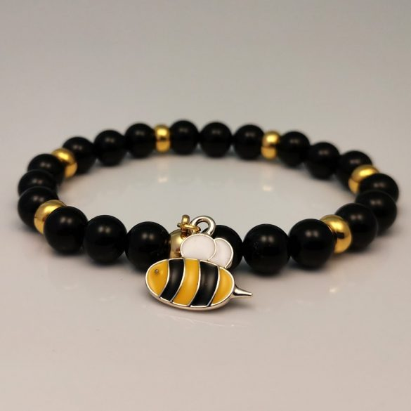 Méhek tánca, női karkötő