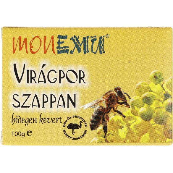 Virágpor szappan, hidegen kevert, 100g (Monemu)