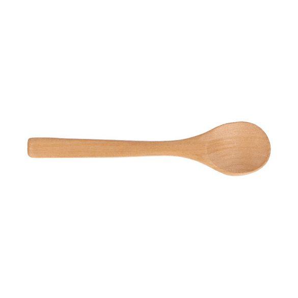 Kiskanál - lapos - fából