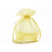 Méhsejtes dísztasak, sárga