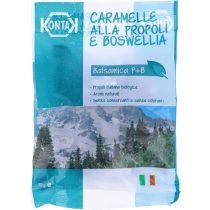 Olasz tradicionális BIO propoliszos - tömjénes cukorka, 70g (Kontak)