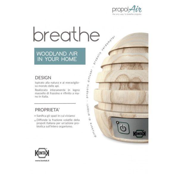 Propolair Breathe propolisz párologtató készülék ionizátorral