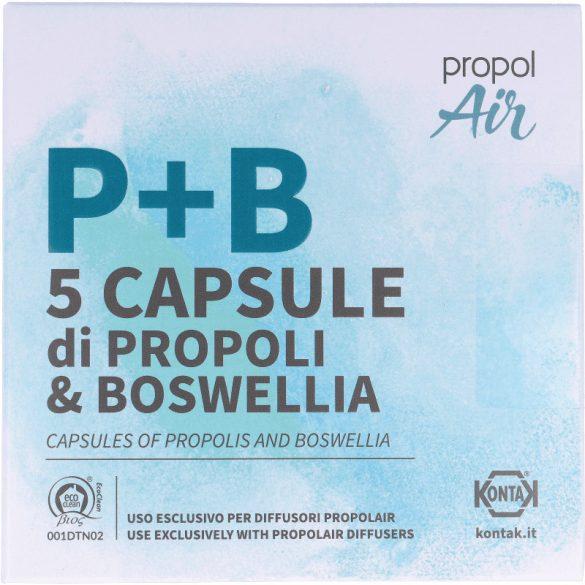 Propolisz kapszula Propolair készülékekhez (5 kapszula/csomag)