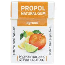 Propoliszos Rágógumi (Propolgum), cukormentes, bio, Citrusos - 25g (Kontak)
