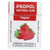 Propoliszos Rágógumi (Propolgum), cukormentes, bio, Epres - 25g (Kontak)