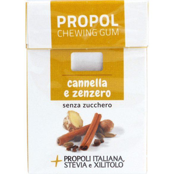 Propoliszos Rágógumi (Propolgum), cukormentes, bio, Fahéjas-gyömbéres - 25g (Kontak)