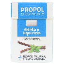 Propoliszos Rágógumi (Propolgum), cukormentes, bio, mentolos - 25g (Kontak)