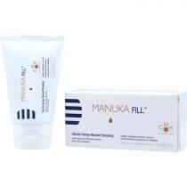 Manuka FILL® antibakteriális orvosi sebkezelő manuka méz, 100%, 42,5g (LMP)
