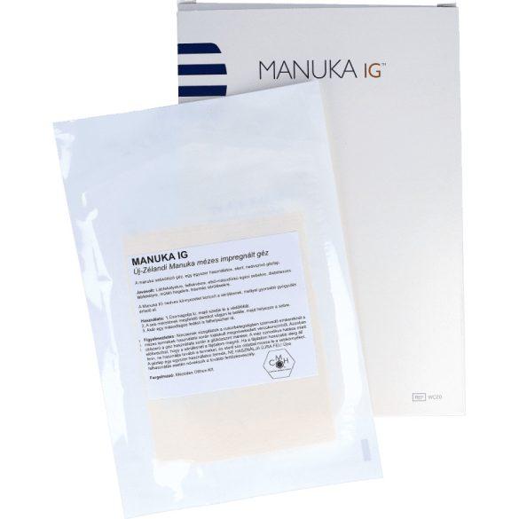 Manuka mézes IG® impregnált géz - 1db -10cm x 12,5cm (LMP)