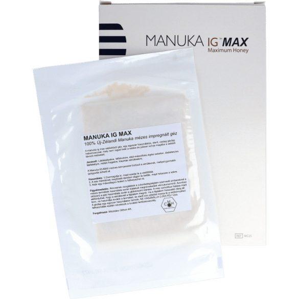 Manuka mézes IG-MAX impregnált géz - 1db -10cm x 12,5cm (LMP)