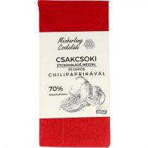 Csakcsoki étcsokoládé mézzel és chilipaprikával 70g (Mézbarlang)