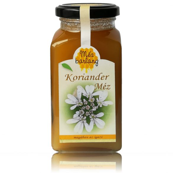 Koriander méz 400g (Mézbarlang)