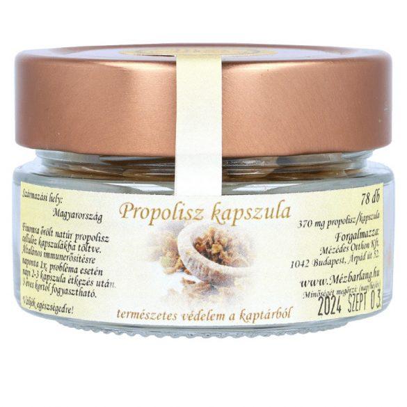 Propolisz kapszula, natúr, 60 db, 402 mg/db (Mézbarlang)