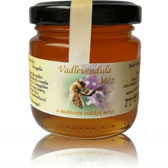 Vadlevendula méz 130g (Mézbarlang)