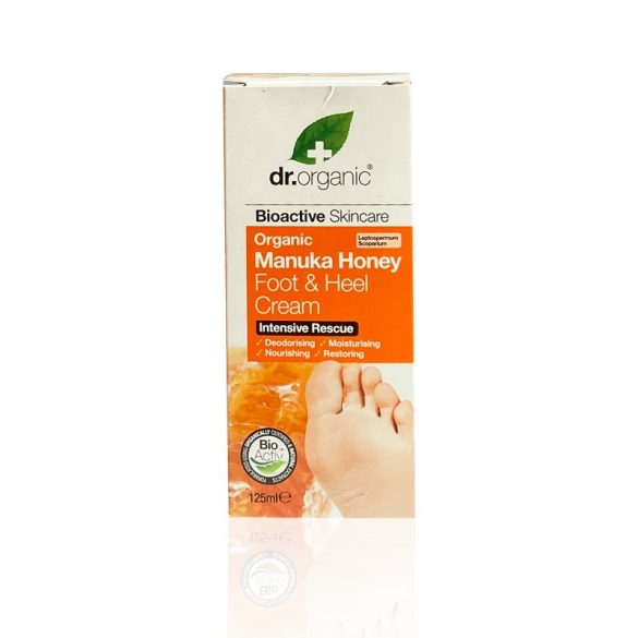 Dr Organic bio MANUKA mézes láb és sarokápoló 125ml