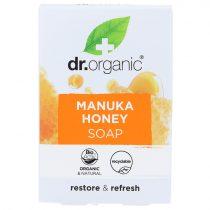 Dr Organic bio MANUKA mézes szappan 100g