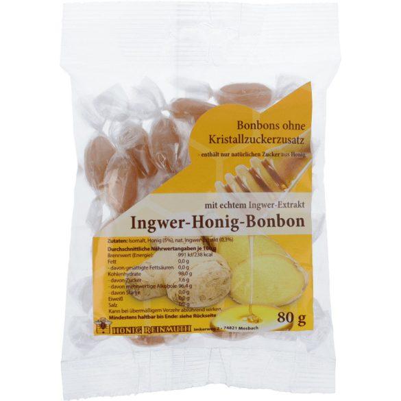 Gyömbéres-mézes cukorka 80g (Reinmuth)