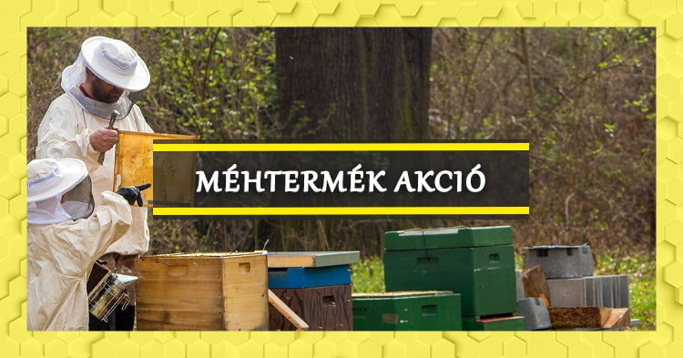 Életerő a kaptárból: propolisz, virágpor és méhkenyér akció